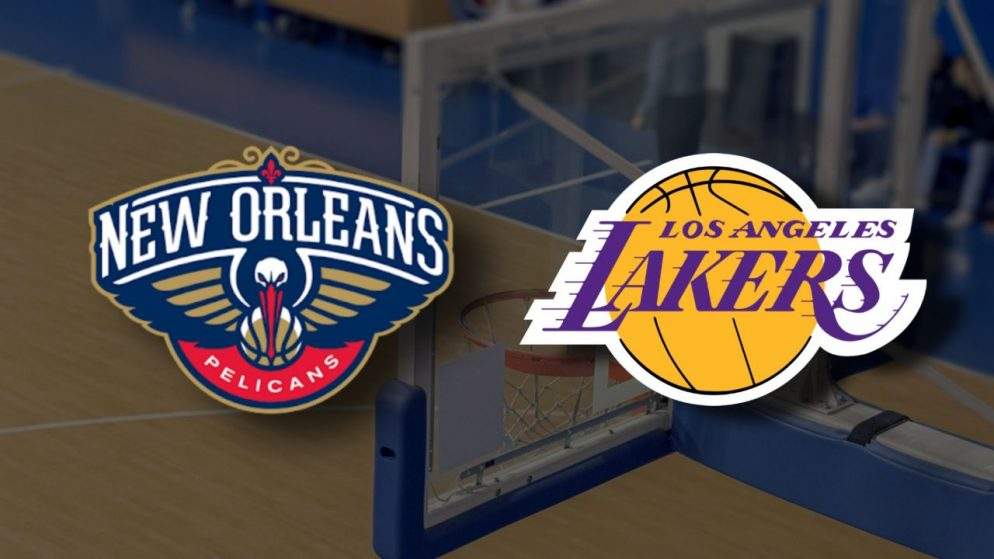 Apostas New Orleans Pelicans x Los Angeles Lakers NBA 23/03/21