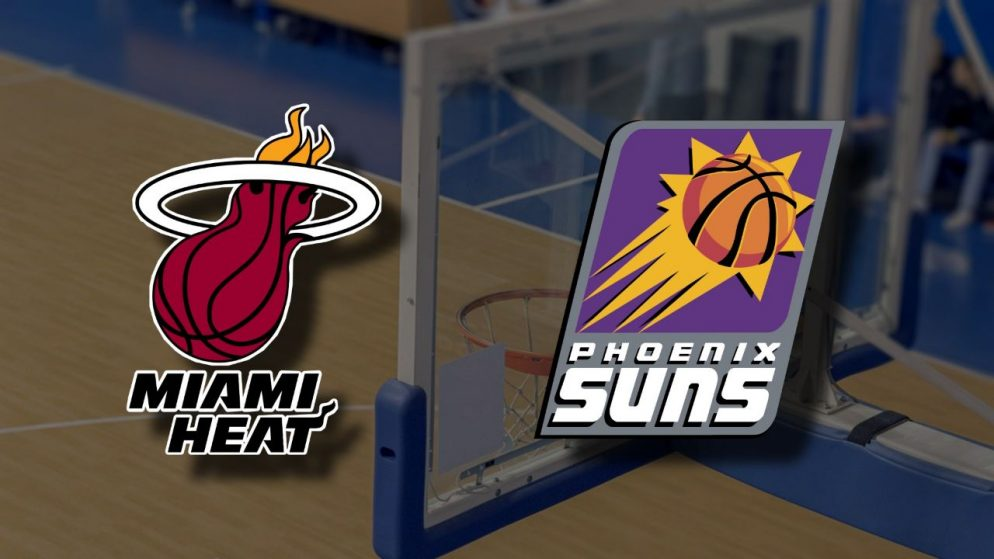 Apostas Miami Heat x Phoenix Suns NBA 23/03/21