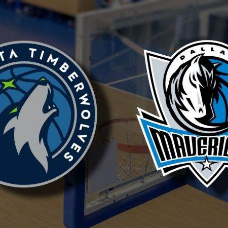 Apostas Minnesota Timberwolves x Dallas Mavericks NBA 24/03/21