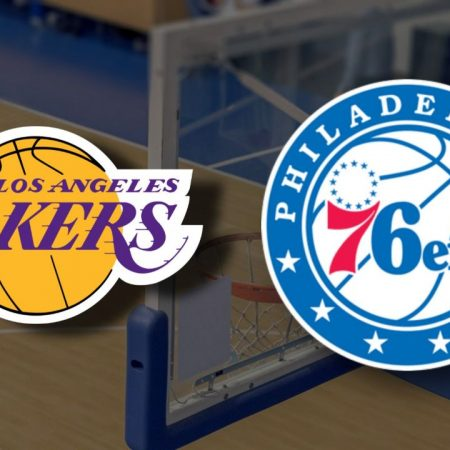 Apostas Los Angeles Lakers x Philadelphia 76ers NBA 25/03/21