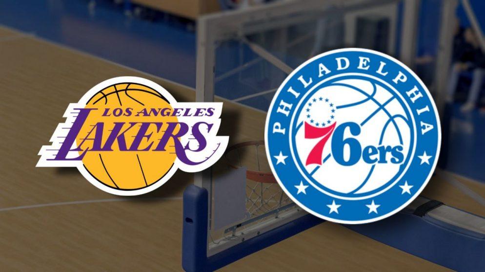Apostas Los Angeles Lakers x Philadelphia 76ers NBA 25/03/21