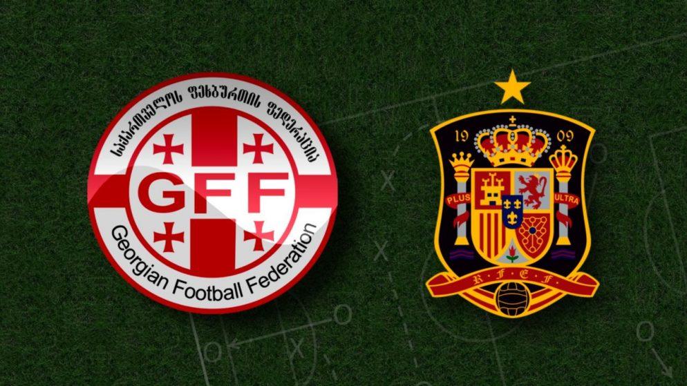 Apostas Geórgia x Espanha Eliminatórias Copa do Mundo 28/03/21