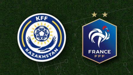 Apostas Cazaquistão x França Eliminatórias Copa do Mundo 28/03/21
