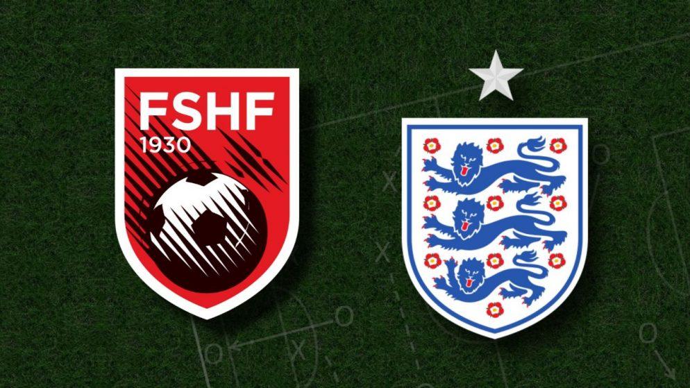 Apostas Albânia x Inglaterra Eliminatórias Copa do Mundo 28/03/21