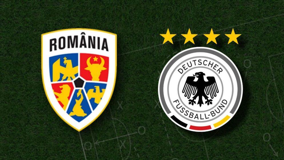 Apostas Romênia x Alemanha Eliminatórias Copa do Mundo 28/03/21