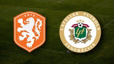 Apostas Holanda x Letônia Eliminatórias Copa do Mundo 27/03/21