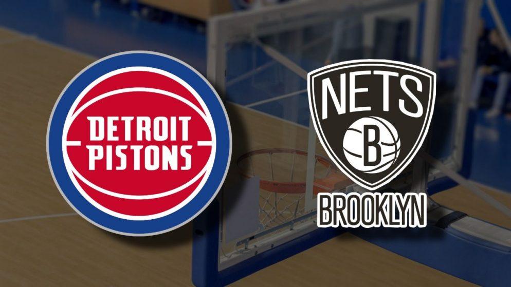 Apostas Detroit Pistons x Brooklyn Nets NBA 26/03/21