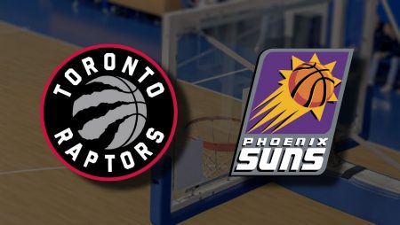 Apostas Toronto Raptors x Phoenix Suns NBA 26/03/21