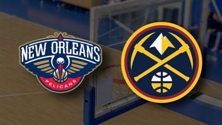 Apostas New Orleans Pelicans x Denver Nuggets NBA 26/03/21
