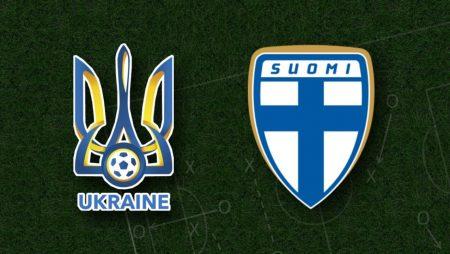 Apostas Ucrânia x Finlândia Eliminatórias Copa do Mundo 28/03/21