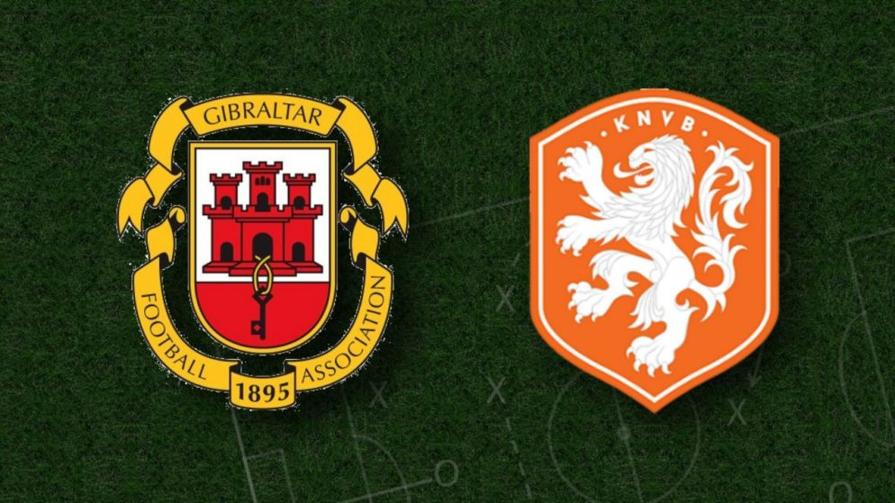 Apostas Gibraltar x Holanda Eliminatórias Copa do Mundo 30/03/21
