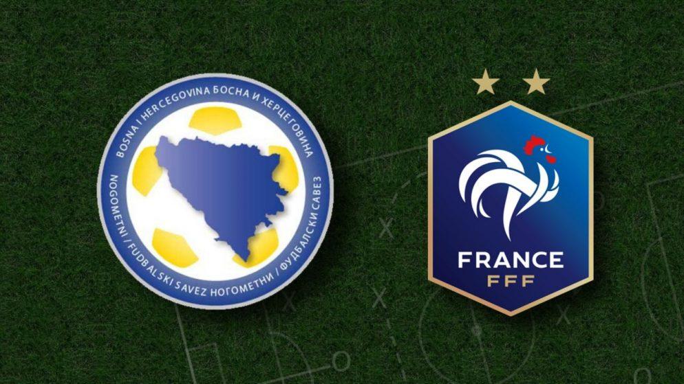 Apostas Bósnia e Herzegovina x França Eliminatórias Copa do Mundo 31/03/21