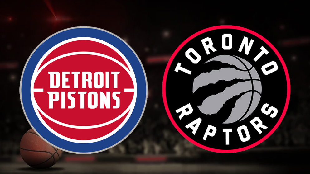 Apostas Detroit Pistons x Toronto Raptors NBA 17/03/21