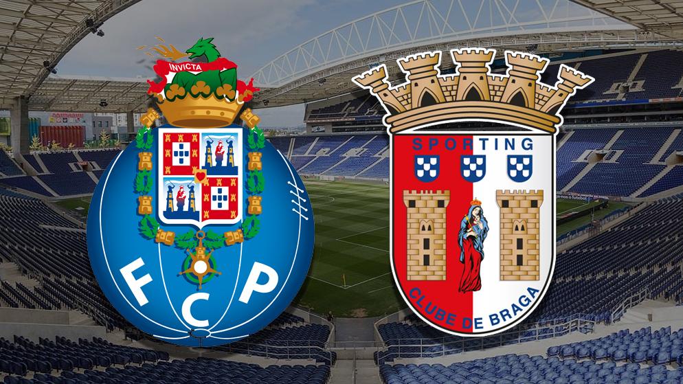 Apostas Porto x Braga Taça de Portugal 03/03/21