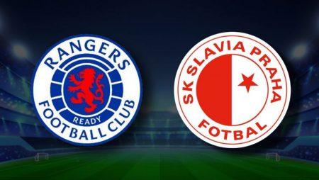 Apostas Rangers x Slavia Praga Europa League 18/03/21