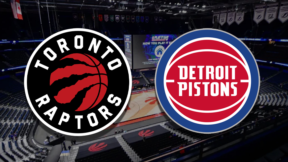 Apostas Toronto Raptors x Detroit Pistons NBA 03/03/21
