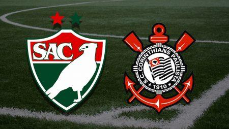 Apostas Salgueiro x Corinthians Copa do Brasil 17/03/21