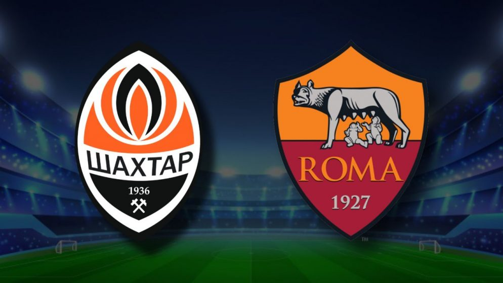 Apostas Shakhtar Donetsk x Roma Europa League 18/03/21