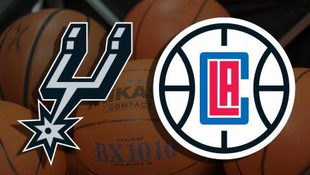 Apostas San Antonio Spurs x Los Angeles Clippers NBA 24/03/21