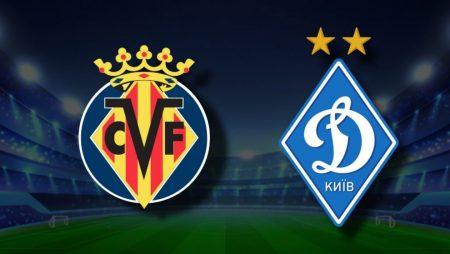 Apostas Villarreal x Dínamo de Kiev Europa League 18/03/21