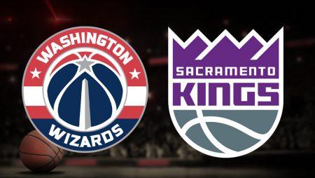Apostas Washington Wizards x Sacramento Kings NBA 17/03/21