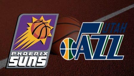 Apostas Phoenix Suns x Utah Jazz NBA 07/04/21
