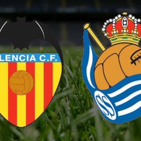 Apostas Valencia x Real Sociedad La Liga 11/04/21