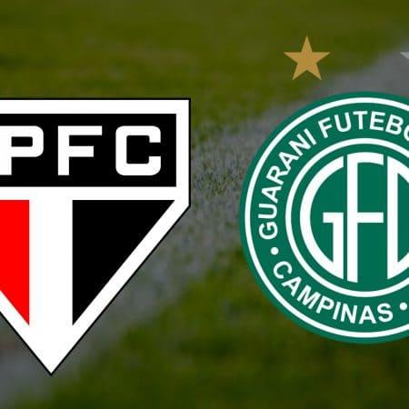 Apostas São Paulo x Guarani Paulistão 14/03/21