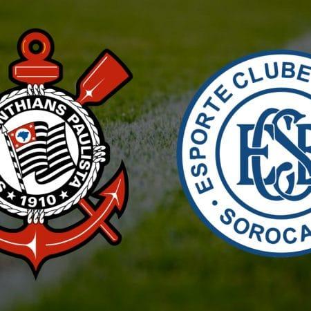 Apostas Corinthians x São Bento Paulistão 16/04/21