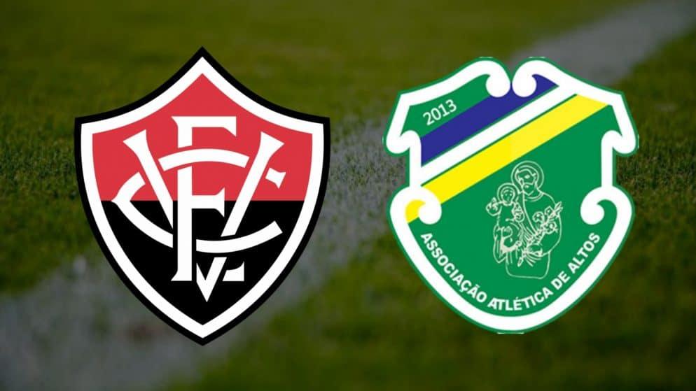 Apostas Vitória x Altos Copa do Nordeste 17/04/21