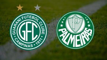 Apostas Guarani x Palmeiras Paulistão 23/04/21