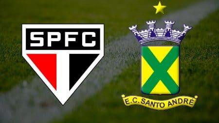 Apostas São Paulo x Santo André Paulistão 23/04/21
