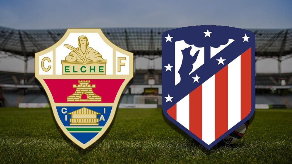 Apostas Elche x Atlético de Madrid La Liga 01/05/21