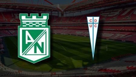Apostas Atlético Nacional x Universidad Católica Libertadores da América 22/04/21