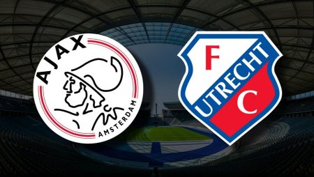 Apostas Ajax x FC Utrecht Eredivisie 22/04/21