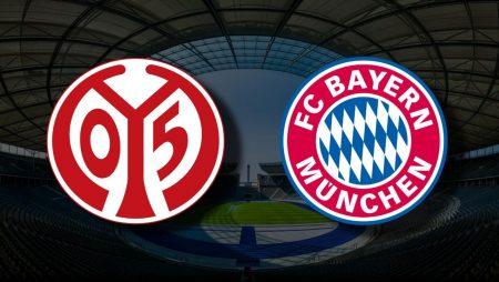 Apostas Mainz x Bayern de Munique Bundesliga 24/04/21