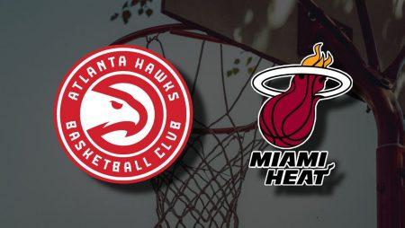 Apostas Atlanta Hawks x Miami Heat NBA 23/04/21