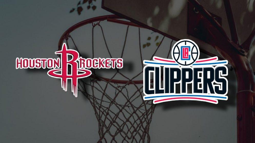 Apostas Houston Rockets x Los Angeles Clippers NBA 23/04/21
