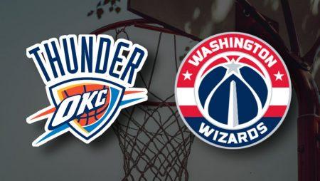 Apostas Oklahoma City Thunder x Washington Wizards 23/04/21