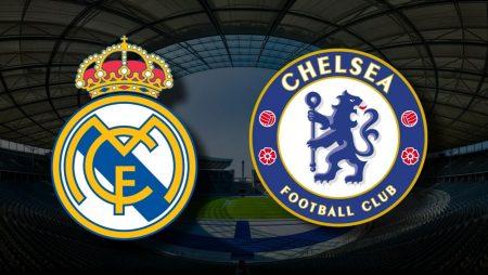 Apostas Real Madrid x Chelsea Liga dos Campeões 27/04/21