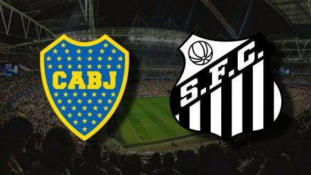 Apostas Boca Juniors x Santos Libertadores da América 27/04/21