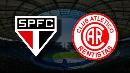 Apostas São Paulo x Rentistas Libertadores da América 29/04/21