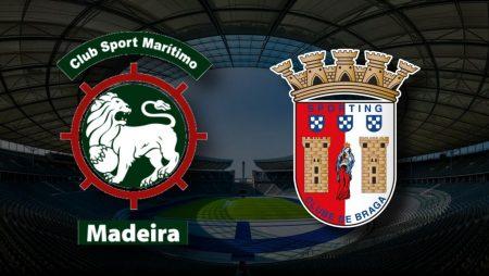 Apostas Marítimo x Braga Liga NOS 29/04/21
