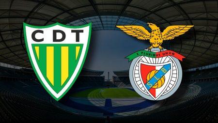 Apostas Tondela x SL Benfica Liga NOS 30/04/21