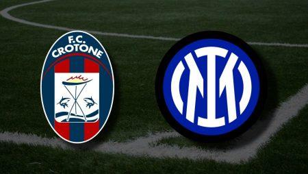 Apostas Crotone x Inter de Milão Serie A 01/05/21