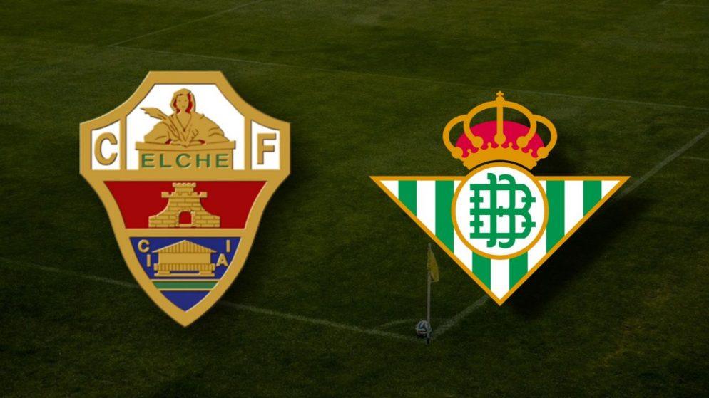 Apostas Elche CF x Real Betis La Liga 04/04/21
