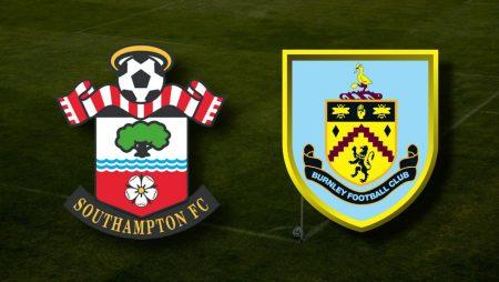 Apostas Southampton x Burnley Premier League 04/04/21