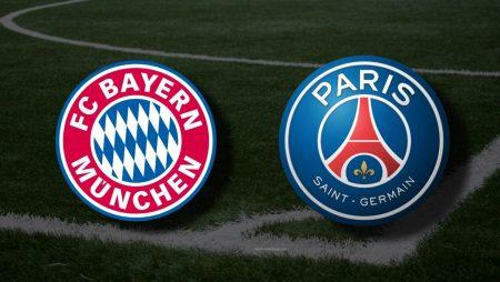 Apostas Bayern de Munique x PSG Liga dos Campeões 07/04/21