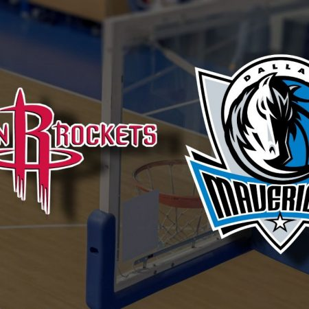 Apostas Houston Rockets x Dallas Mavericks NBA 07/04/21