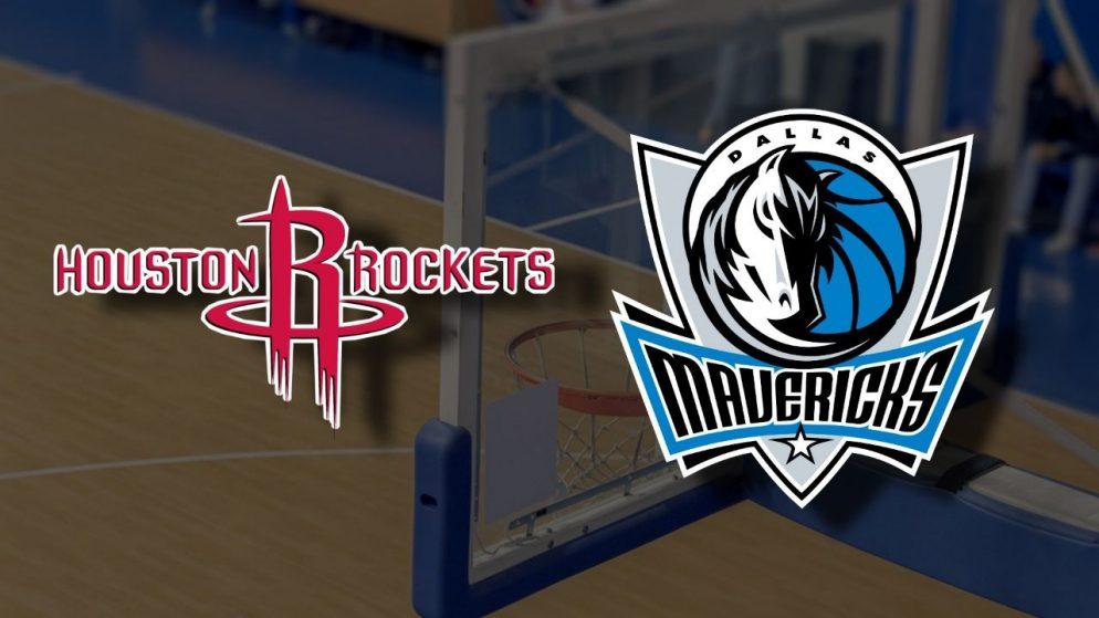 Apostas Houston Rockets x Dallas Mavericks NBA 07/04/21